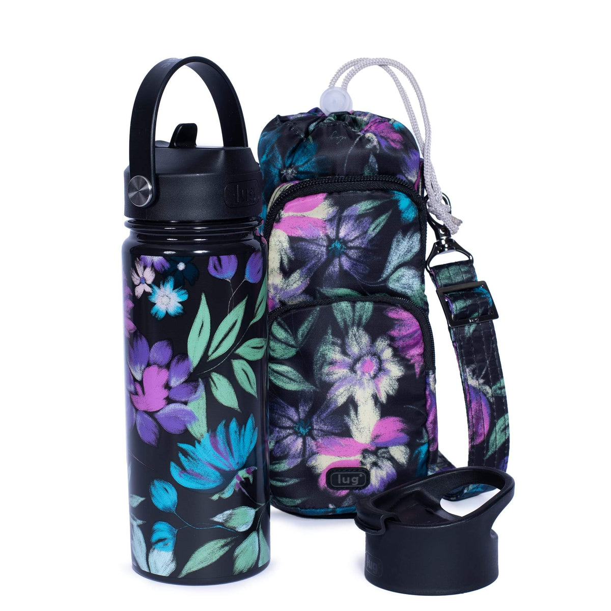 Huggie & Chuggie Crossbody and Water Bottle Set - 18.5oz