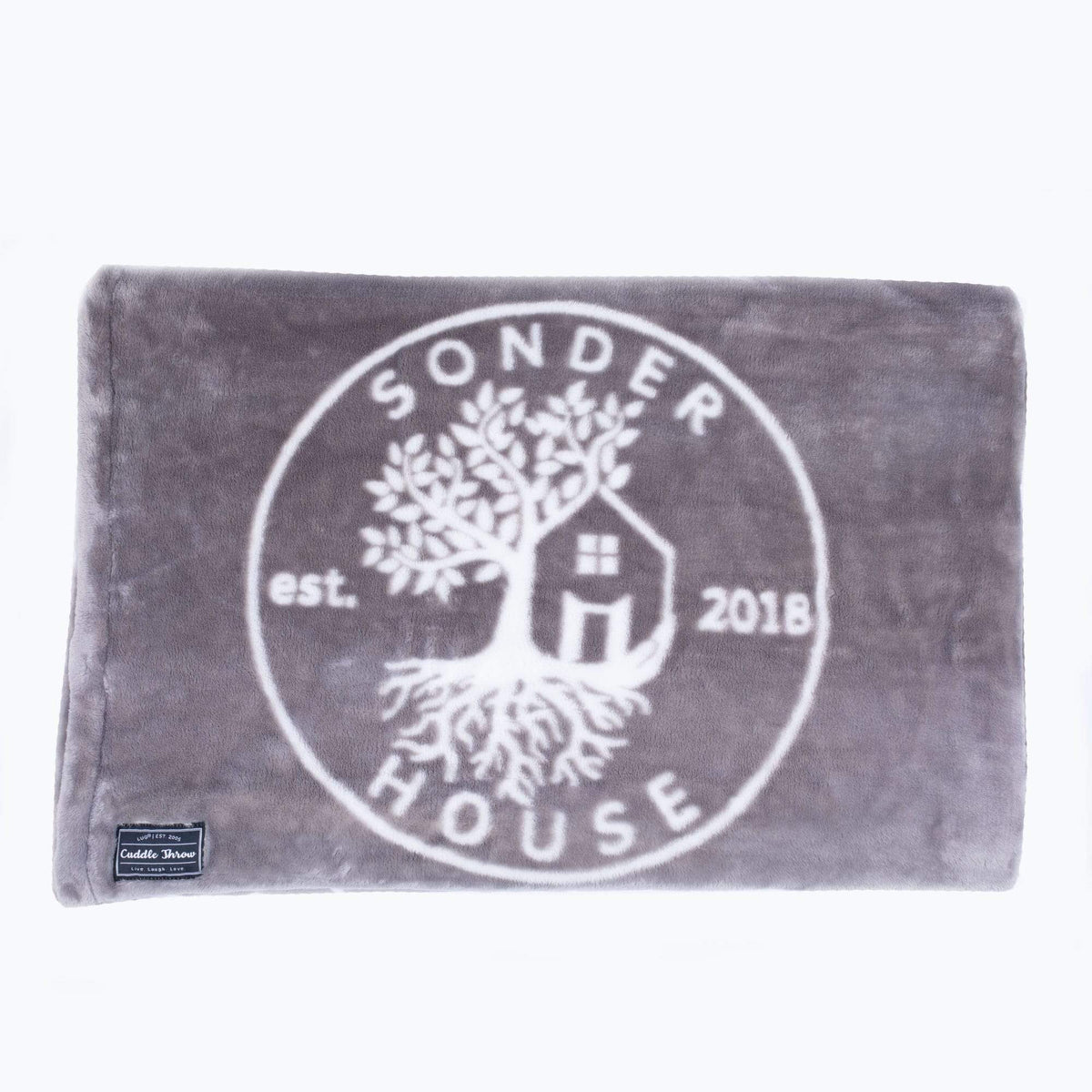 Sonder House Cuddle Throw Blanket