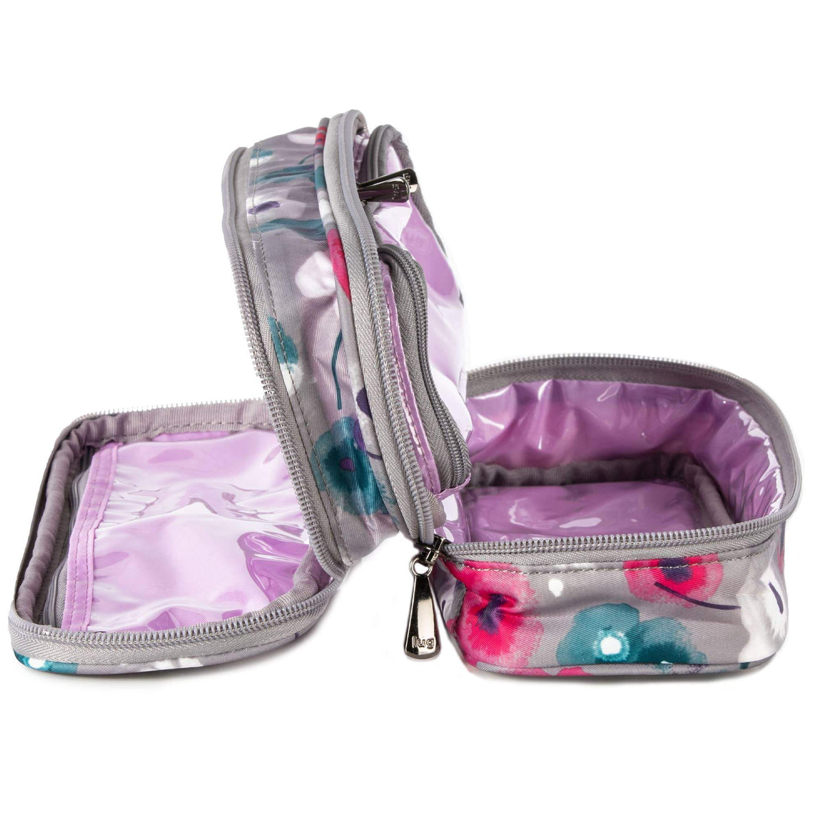 Double Decker Cosmetic Case