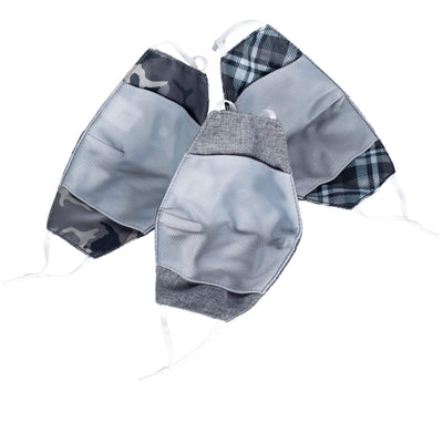 Beaker 2 Face Mask Assorted 3PK - Small