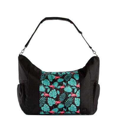 Shuffle Overnight Tote Bag