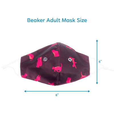 Beaker 2 Face Mask 3PK - Matching Set