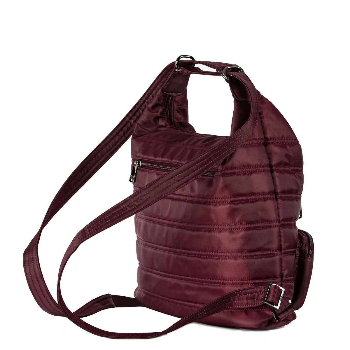 Zipliner Convertible Hobo Bag