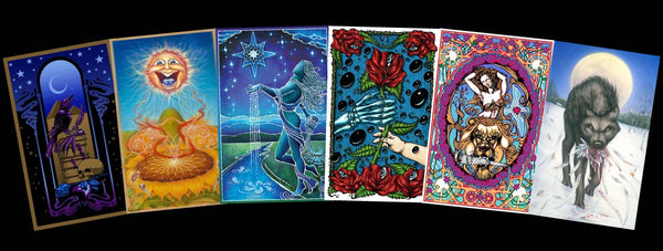 Tarotpin Set - Grateful Dead Tarot