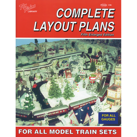 Complete Layout Plans for All Model Train Sets