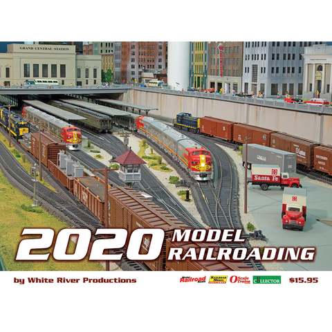 Model Railroading Calendar 2020