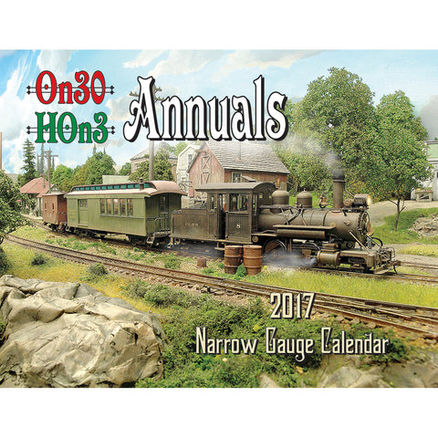2017 Narrow Gauge Calendar