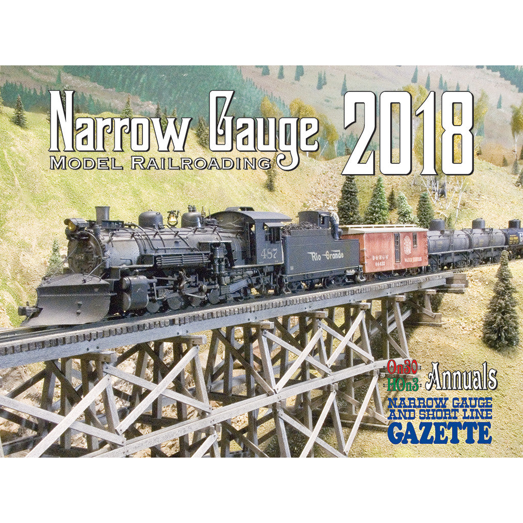 2018 Narrow Gauge Calendar