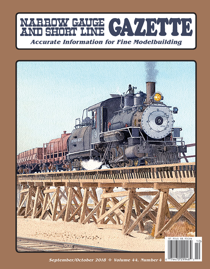 Narrow Gauge and Short Line Gazette September/October 2018