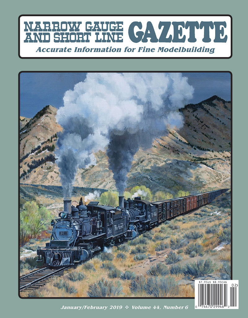 Narrow Gauge and Short Line Gazette November/December 2018