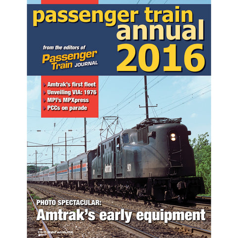 Passenger Train Annual 2016