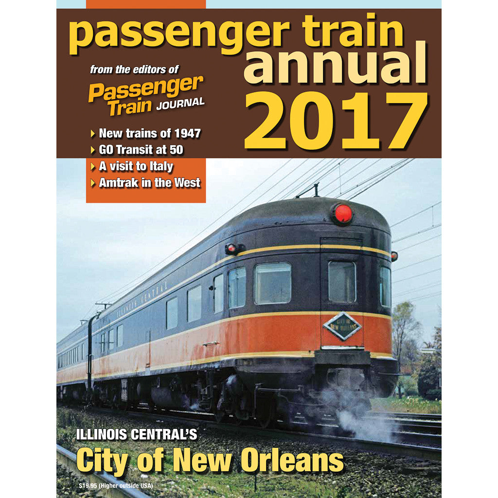 Passenger Train Annual 2017