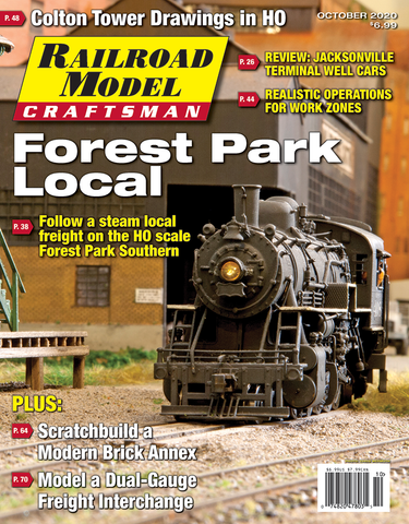 Railroad Model Craftsman October 2020
