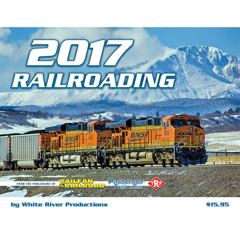 2017 Railroading calendar