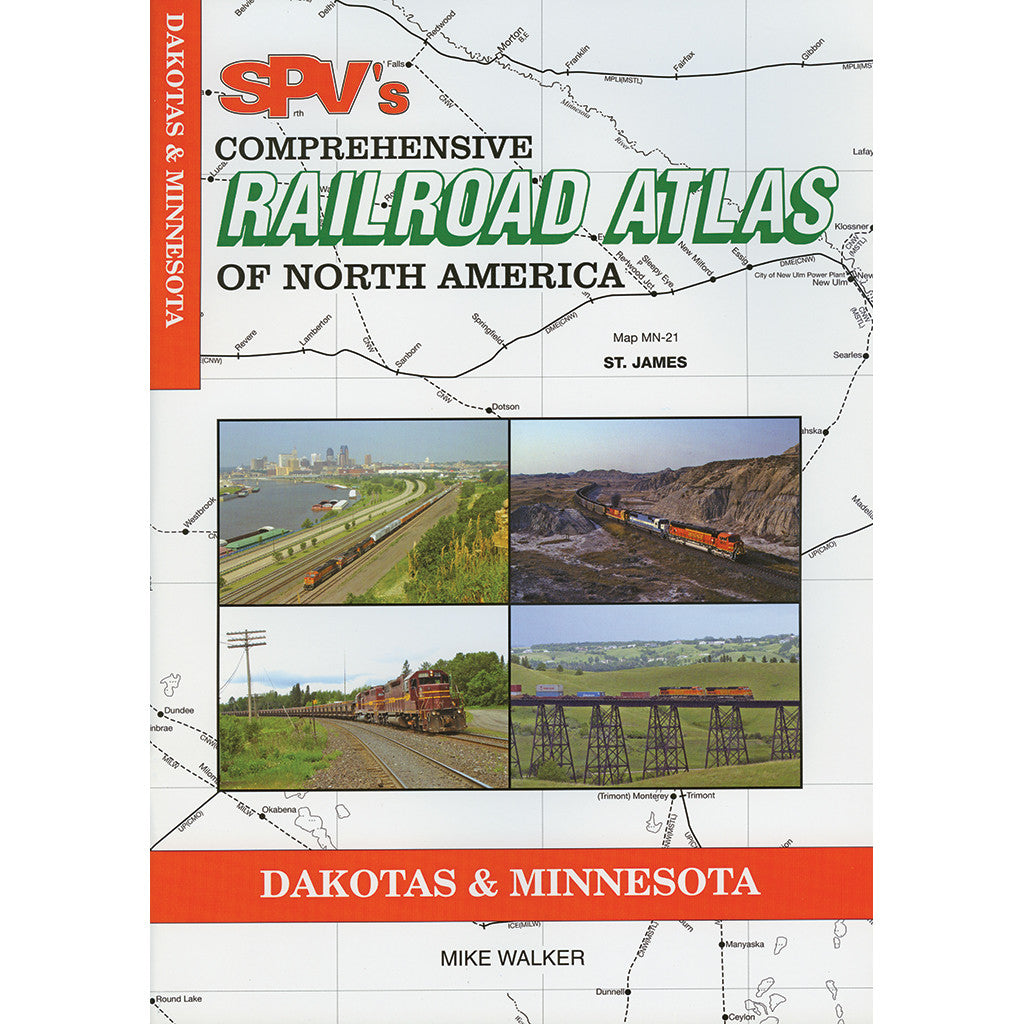 Dakotas & Minnesota Railroad Atlas