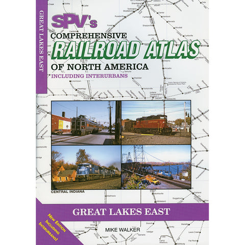 Great Lakes East Railroad Atlas