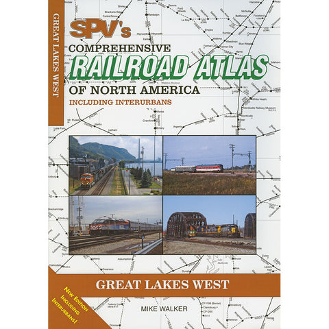 Great Lakes West Railroad Atlas