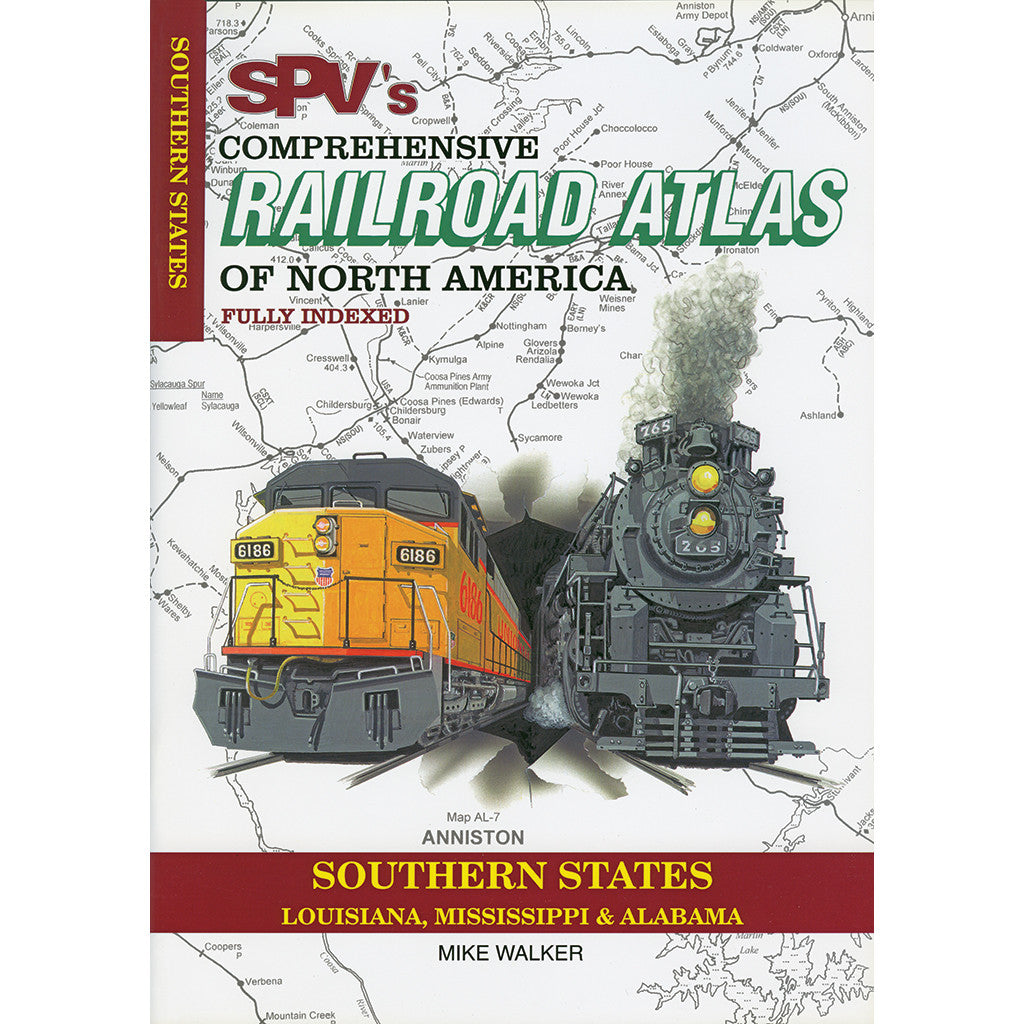 Southern States Railroad Atlas