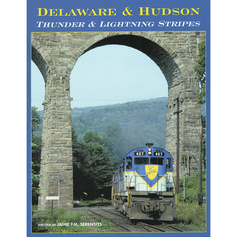 Delaware & Hudson: Thunder & Lightning Stripes