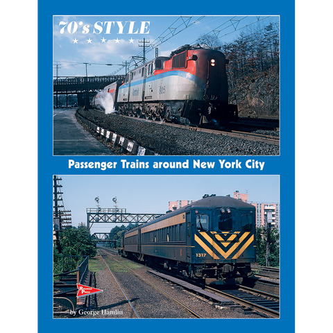 70s Style: Passenger Trains around New York City