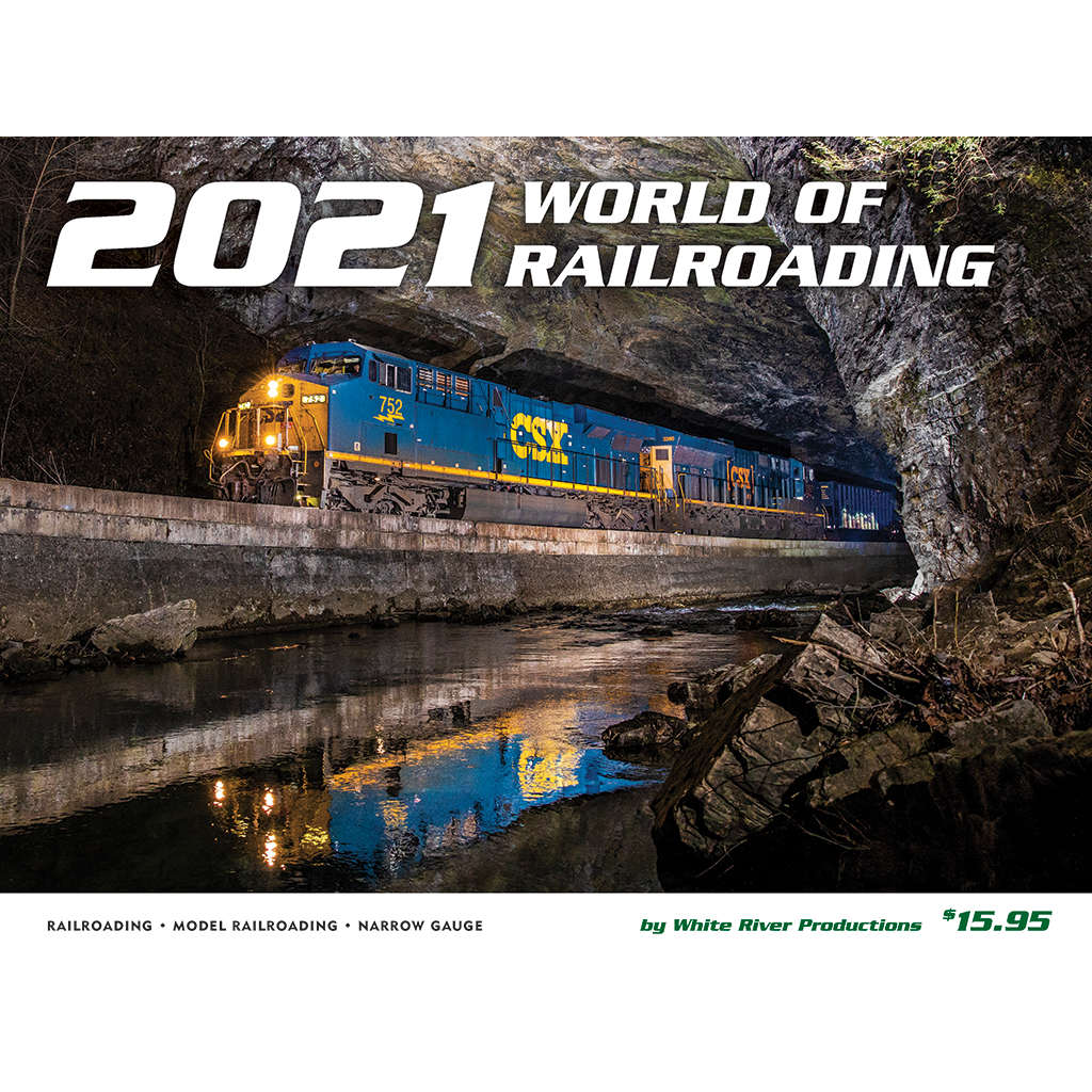 World of Railroading 2021 calendar