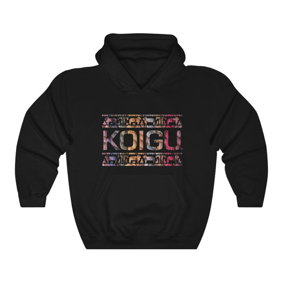 Koigu Pencil Box Hooded Sweatshirt
