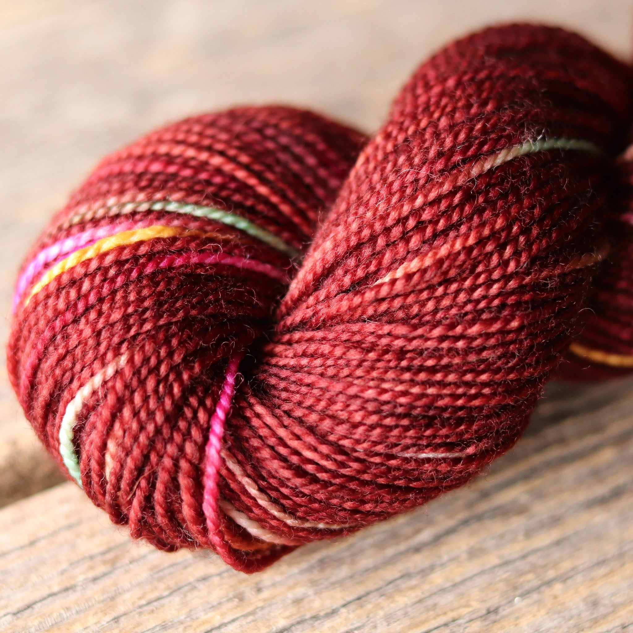 P376 (Burgundy) Bellish Yarn