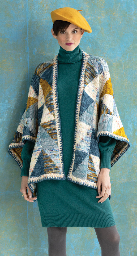 Vogue Knitting Scalene Poncho Yarn Pack