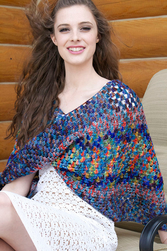 Granny Square Poncho download pdf
