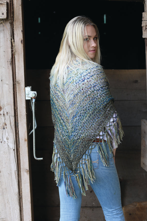 Gradient Charlotte's Web Shawl Kit - KPPPM