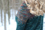 Lagom  Mosaic Raglan Pullover by Courtney Spainhower