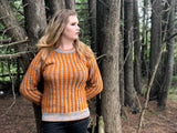 MAN'S CABLES SWEATER    ~ By Melissa Leapman PDF