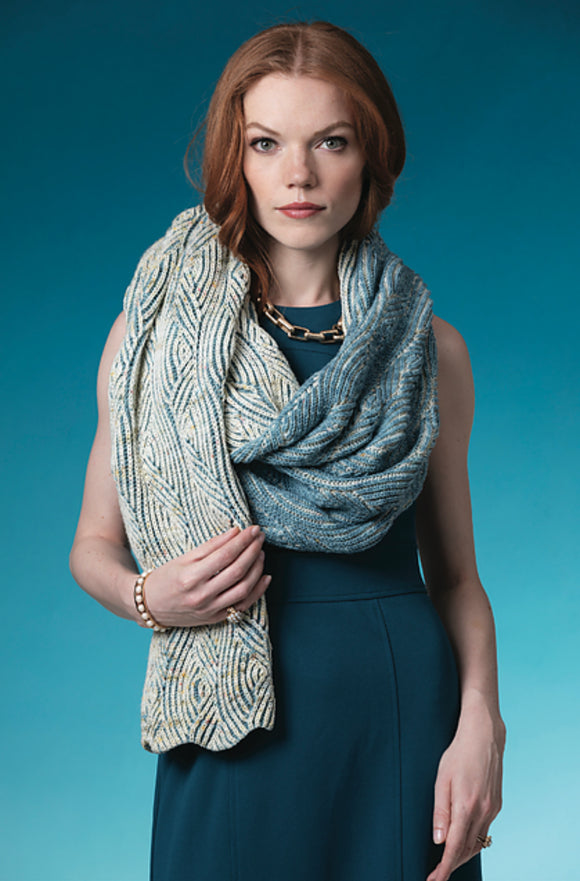 VOGUE KNITTING OCEAN WAVE WRAP YARN PACK