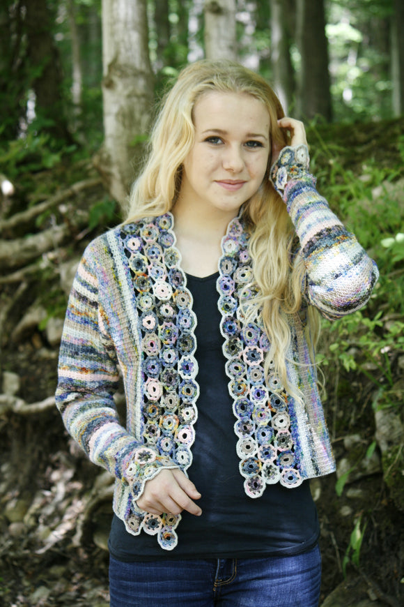 Pebble Flower Jacket pdf