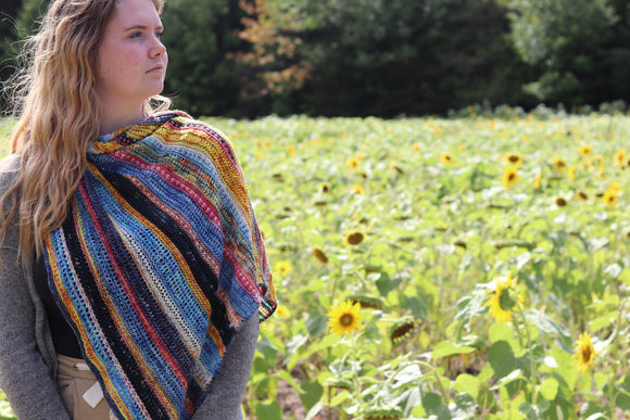 Muhu  Shawl - download pattern