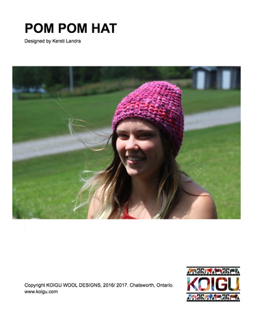 Pom Pom Hat PDF Download