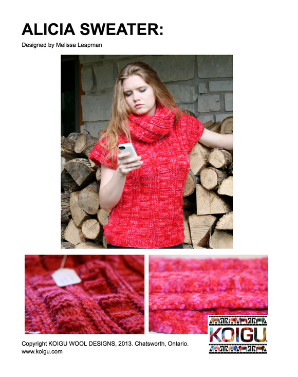 Alicia Sweater PDF Download