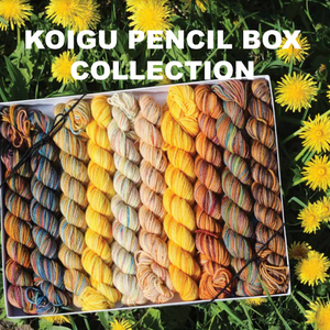 Koigu Pencil Box Collection - **PREORDER** Print
