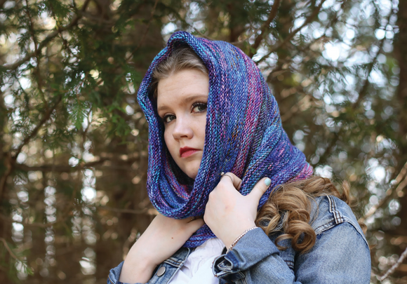 Pacific Shake Cowl download pattern