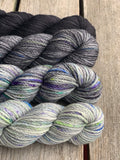 Crochet Fade Wrap | EASTON SHAWL  By TL Yarn Crafts Yarn PACK colour Grey