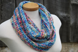 Crochet Spring Cowl - Download