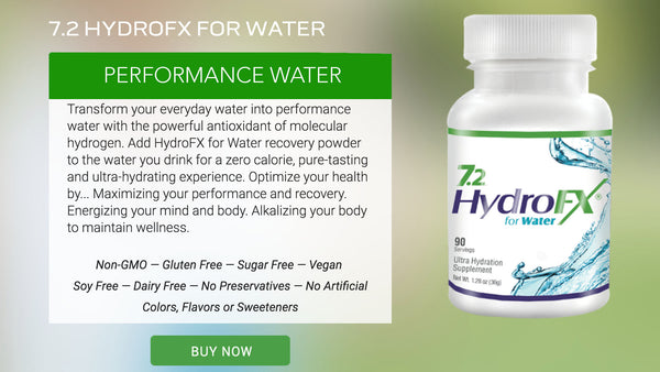Recovery HydroFX for Water