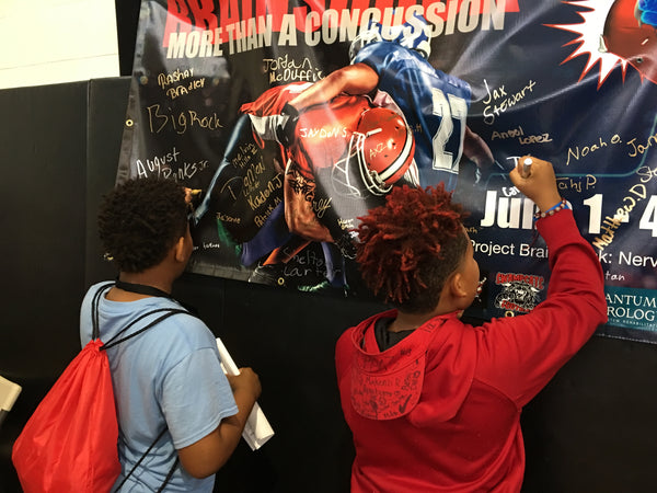 Young Athletes Signing Brainshock poster