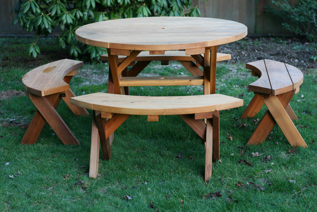 Circle Picnic Table