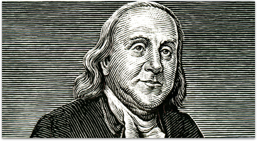 Benjamin Franklin used a standing desk