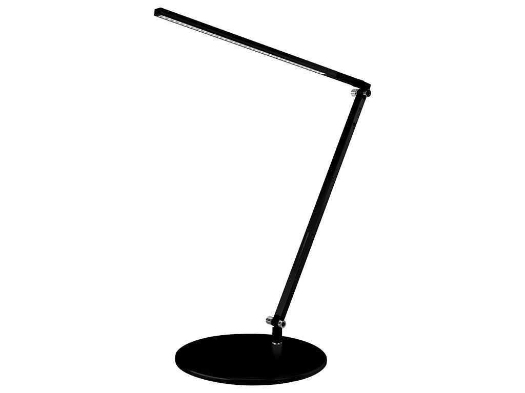 Metallic Black Single Arm Desk Lamp - StandDesk