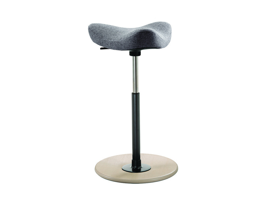 Gray Move Stool