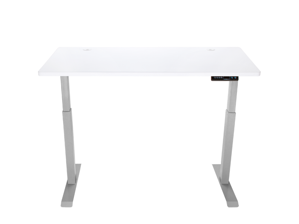 "StandDesk Simple w/ Arctic White Top 26"" x 56"""
