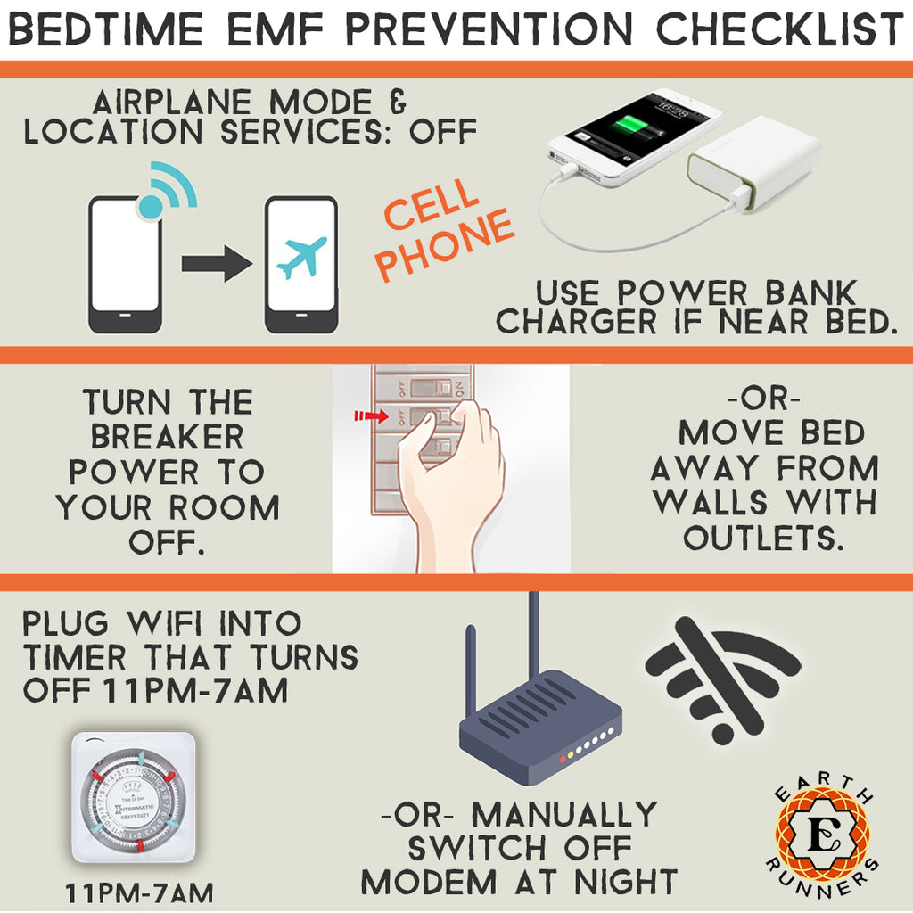 emf radiation prevention tips guide