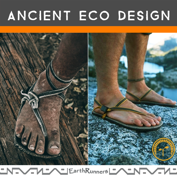 ancient design running sandals